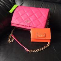 One handbag and wallet
