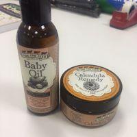 baby balm x 3baby oil x 1