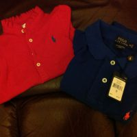 Polo shirts for baby and women