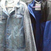 Wool Hooded Varsity Jacket  x 1Hooded