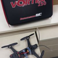 1x Toy quad-copter model  kit1x Plasti