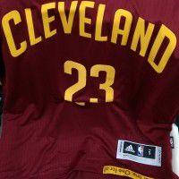 Mens Cleveland Cavaliers Garnet Jersey