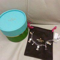 Kate Spade charmed charm bracelet