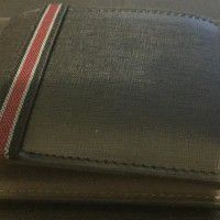 Fred Perry Saffiano Slim Billfold Wallet