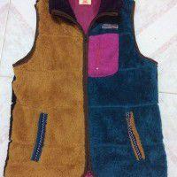 Kriff Mayer fleece vest, color: crazy
