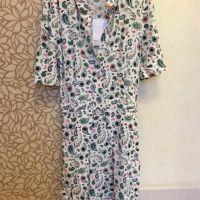PAISLEY PRINT A-LINE DRESS x1