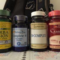 Vitamin B Complex x 5Cranberry Fruit C
